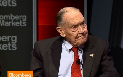 John Bogle and Clifford Asness on Investment Strategy