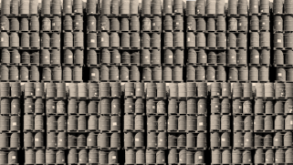 99′ Barrels of Crude on the Wall